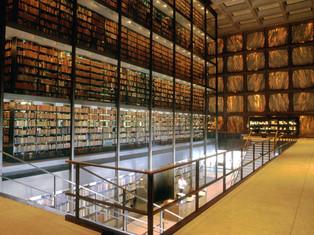 死物比生物更重要 – Yale rare book library