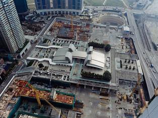 巨型平台-圓方和九龍站