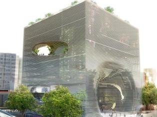 連接了天與地的一個洞—台北技術娛樂設計中心