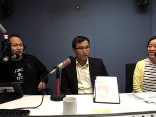 新城電台訪問—《快樂紅人》—成為建築師之路 (可重溫)