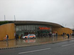 超級的超級市場 – Sainsbury supermarket, North Greenwich