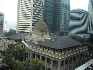 世界上少有的中西合璧的建築—香港立法會大樓