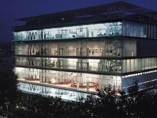 多功能柱子的建築 - Sendai Mediatheque 圖書館