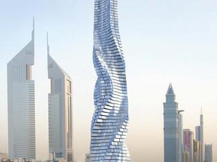 未來豪宅中的豪宅 – The Rotating Tower
