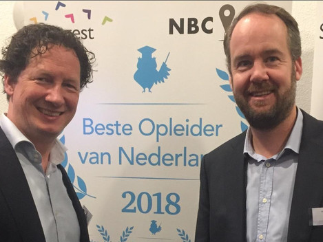 Vierde in Beste Sales Opleider NL