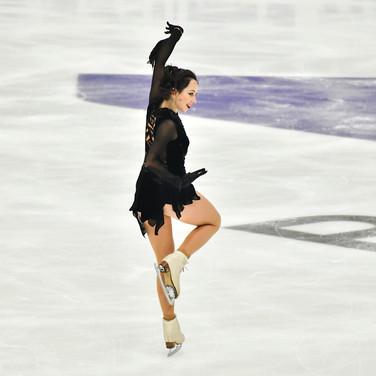 "Elizaveta Tuktamysheva performing her free skating at the Rostelecom Cup 2020.  Елизавета Туктамышева в произвольной программе на ИСУ Гран-при ""Кубок Ростелеком"" 2020."