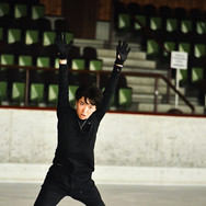 Yuto Kishuna during the practice at the 2020 Bavarian Open.