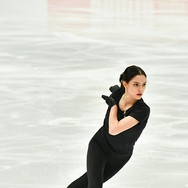 Evgenia Medvedeva performing her free skate at the Russian Test Skates 2020.  Евгения Медведева в произвольной программе на открытых прокатах 2020.