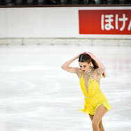 Isadora Williams performing her short program at the 2020 Bavarian Open.