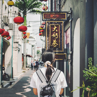 Concubine Lane, Ipoh Old Town.