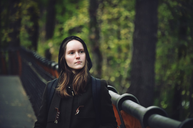 Model: Nadezhda Varzonova from Russia  Place: Moscow, Russia  November 2020