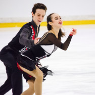 Mariia Nosovitskaya / Mikhail Nosovitskiy performing their free dance at the ISU Junior Grand Prix Riga Cup 2019.
