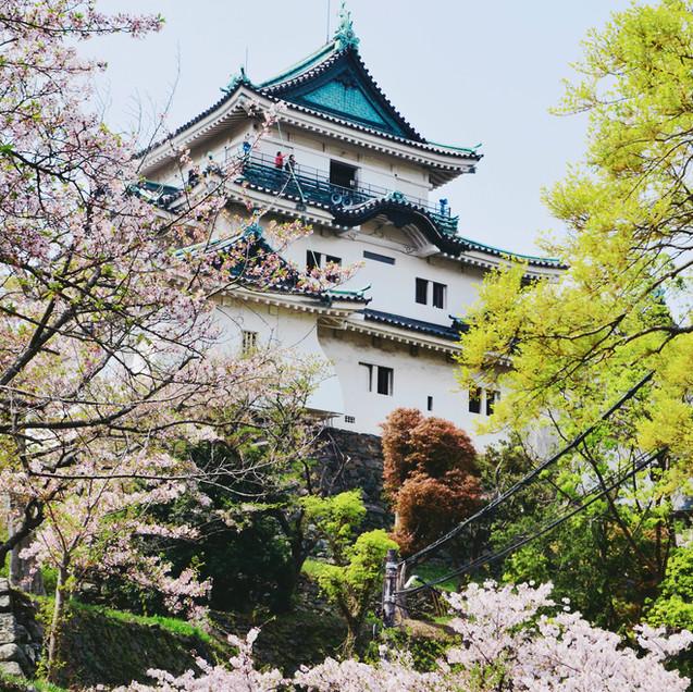 Wakayama Castle.