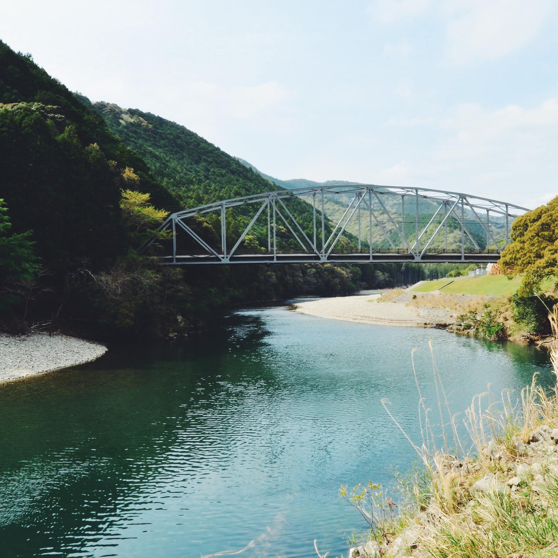 Kozagawa river.