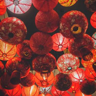 Chinese Lanterns at the Petaling street.