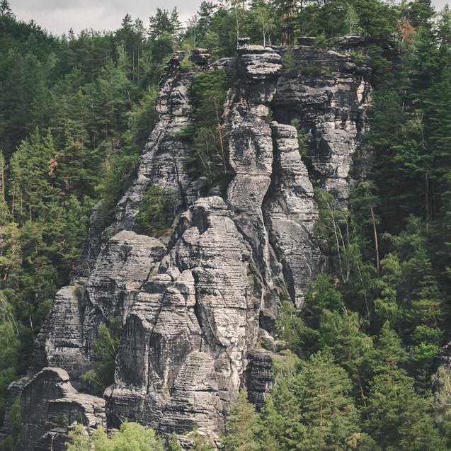 Saxon Switzerland National Park.