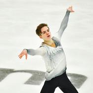 "Vladimir Litvintsev performing his free skating at the Rostelecom Cup 2020.   Владимир Литвинцев в произвольной программе на ИСУ Гран-при ""Кубок Ростелеком"" 2020."