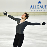 Adrien Tesson performing his free program at the 2020 Bavarian Open.