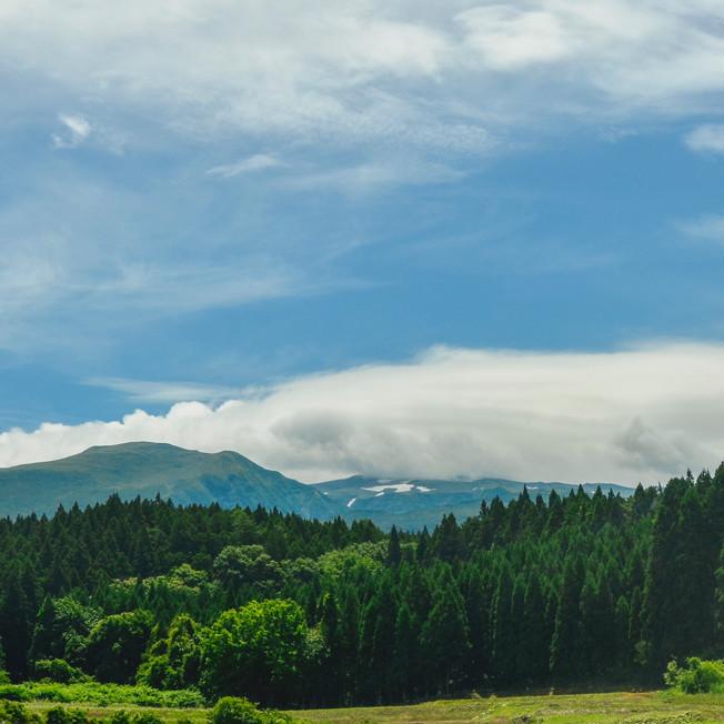 Mount Chokai.