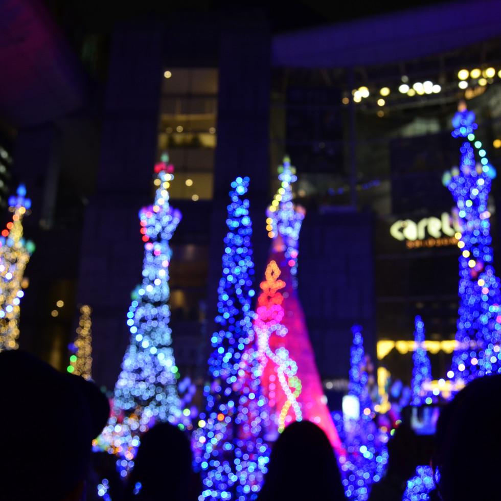 Caretta Shiodome Illumination.