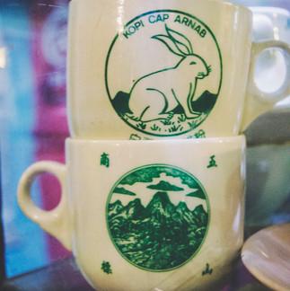 Antique cups/
