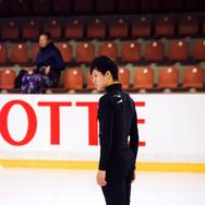 Joseph Phan performing his short program at the ISU Junior Grand Prix Riga Cup 2019.