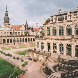 Zwinger, Dresden.