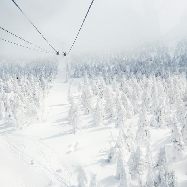 Zao Ski Resort Ropeway.