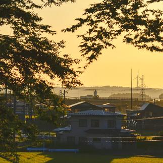 Sunset in Yuwa.