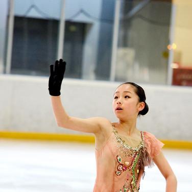 Mako Yamashita during the practice at the Coupe du Printempts 2016.