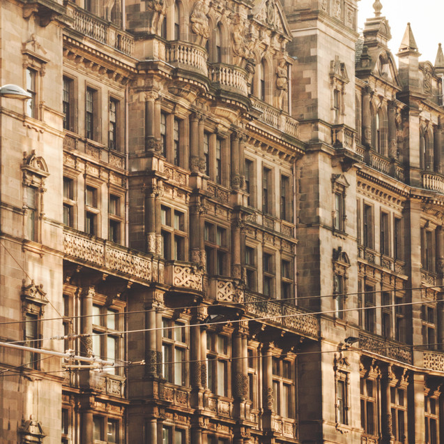 Edinburgh city centre.