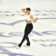 "Sofia Samodurova performing her free skating at the Rostelecom Cup 2020.  Софья Самодурова в произвольной программе на ИСУ Гран-при ""Кубок Ростелеком"" 2020."