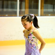 Rinka Watanabe during the medal ceremony at the Coupe du Printempts 2016.