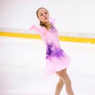 Ivetta Berkovich during her Short Program at the ISU Junior Grand Prix Riga Cup 2019.