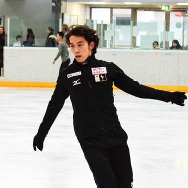 Takahito Mura during the practice at the Coupe du Printempts 2016.