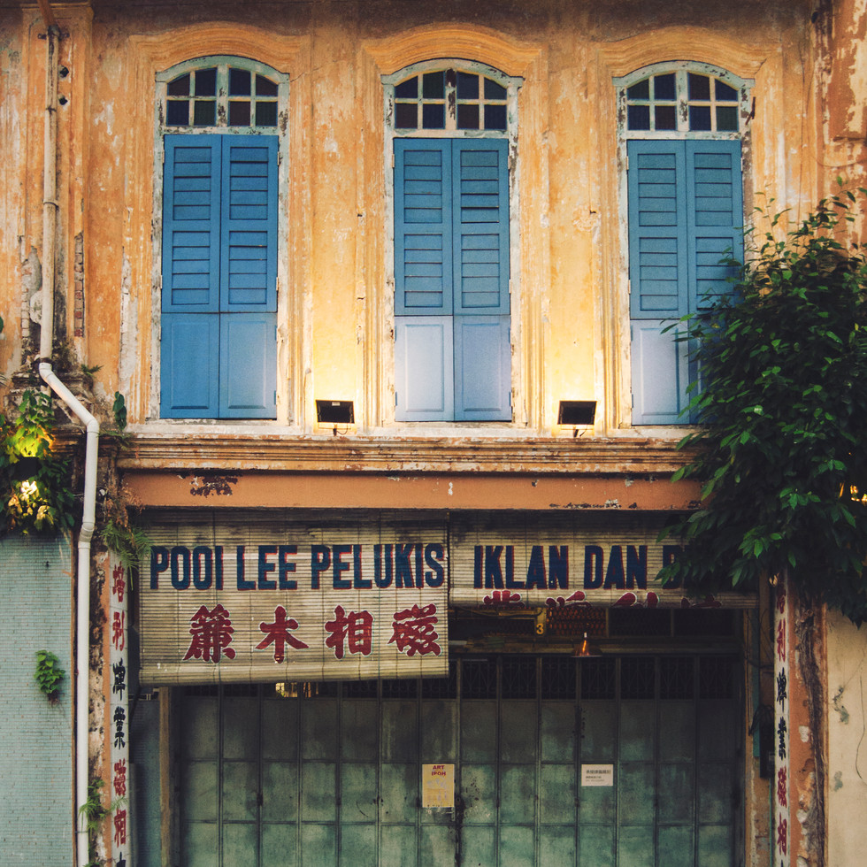 Ipoh Old Town.