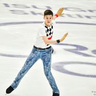"""Artem Kovalev performing his free skating at the Rostelecom Cup 2020.   Артем Ковалев в произвольной программе на ИСУ Гран-при """"Кубок Ростелеком"""" 2020."""