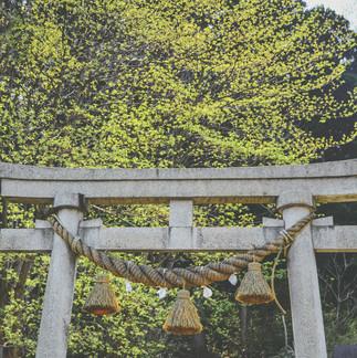 Mitake Shrine.
