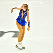 "Eva-Lotta Kiibus performing her free skating at the Rostelecom Cup 2020.  Ева-Лотта Киибус в произвольной программе на ИСУ Гран-при ""Кубок Ростелеком"" 2020."