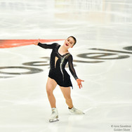 "Alina Urushadze performing her free skating at the Rostelecom Cup 2020.  Алина Урушадзе в произвольной программе на ИСУ Гран-при ""Кубок Ростелеком"" 2020."
