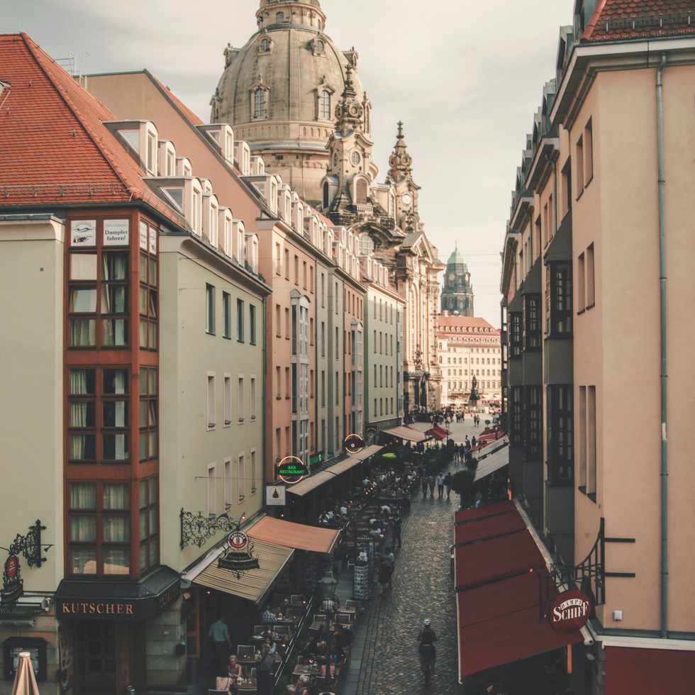 Dresden old town.