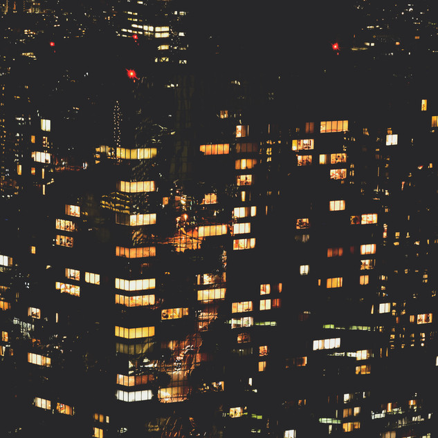 Night view from Tokyo Metropolitan Government Building.