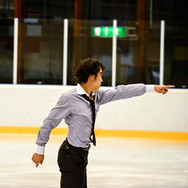Takahito Mura during the gala at the Coupe du Printempts 2016.