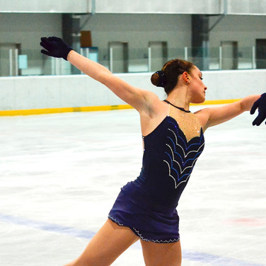 Giada Russo during the practice at the Coupe du Printempts 2016.