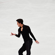 Daniel Samohin performing his short program at the ISU World Championships 2018.