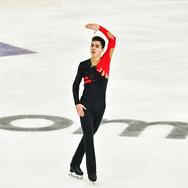 "Roman Savosin performing his free skating at the Rostelecom Cup 2020.   Роман Савосин в произвольной программе на ИСУ Гран-при ""Кубок Ростелеком"" 2020."