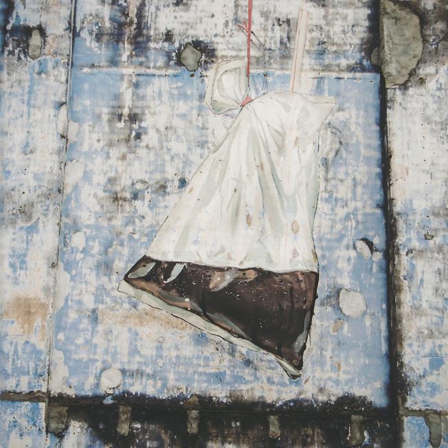 Street art (Kopi-O), Ipoh Old Town.