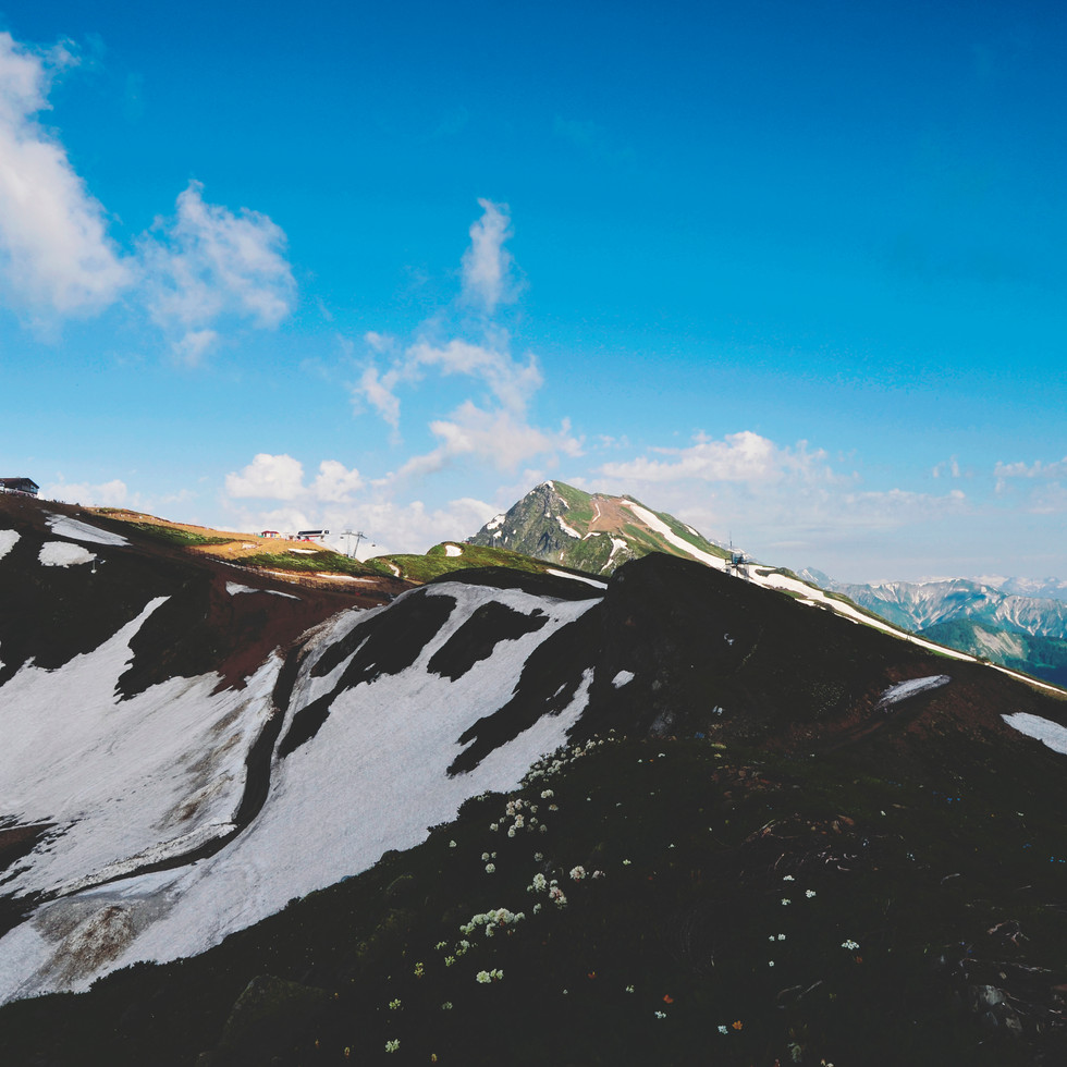 Roza Peak, Krasnaya Polyana.