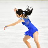 Marin Honda performing her free skating at the 2020 Bavarian Open.