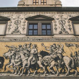 Fürstenzug, Dresden.